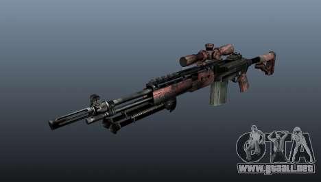 Rifle de francotirador M21 Mk14 v5 para GTA 4