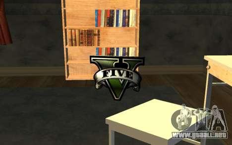 GTA V Save Icon para GTA San Andreas sucesivamente de pantalla