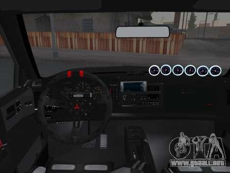 Mitsubishi Cyclone para GTA San Andreas interior