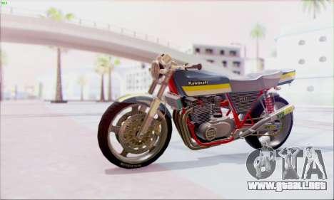 Kawasaki Z-400FX Custom para GTA San Andreas