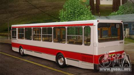 LIAZ 5256.00 piel Pack 2 para vista inferior GTA San Andreas