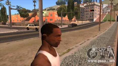 La cámara en el GTA V para GTA San Andreas segunda pantalla