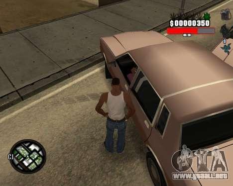 C-Hudik para GTA San Andreas segunda pantalla