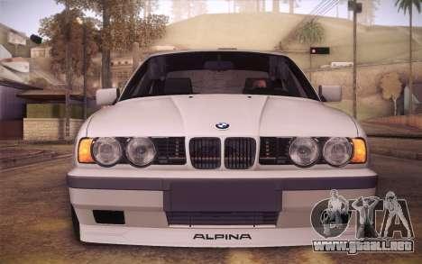 BMW E34 Alpina para la visión correcta GTA San Andreas