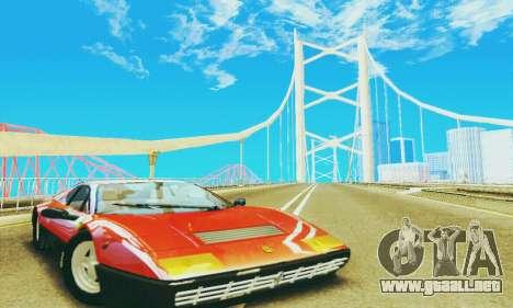 Ferrari 512 BB para GTA San Andreas left