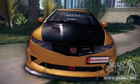 Honda Civic Type R Mugen para vista inferior GTA San Andreas