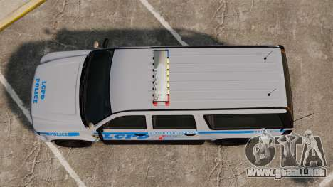 GTA V Declasse Police Ranger 3500PE [ELS] para GTA 4 visión correcta