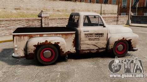 Camioneta oxidada para GTA 4 left