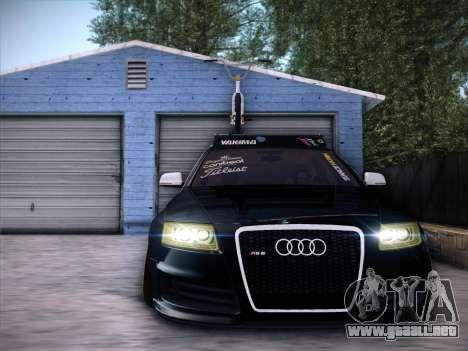 Audi Avant RS6 LowStance para GTA San Andreas left