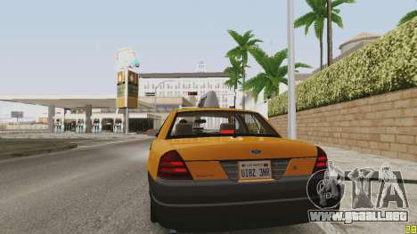 ENB soleado para PC baja o media para GTA San Andreas