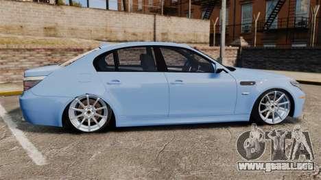 BMW M5 2009 para GTA 4 left