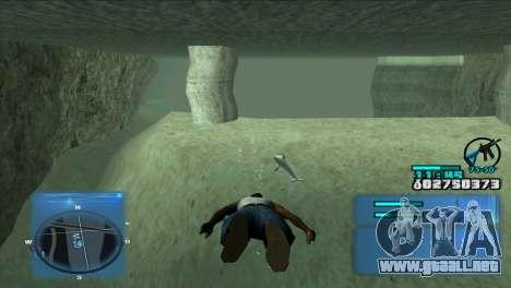 C-HUD Battlefield 3 para GTA San Andreas tercera pantalla
