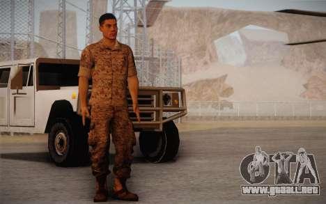 David Montes para GTA San Andreas segunda pantalla