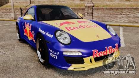 Porsche 911 Sport Classic 2010 Red Bull para GTA 4