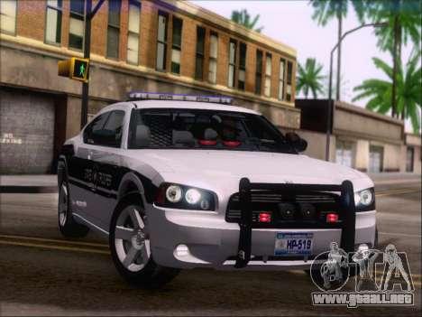 Dodge Charger San Andreas State Trooper para las ruedas de GTA San Andreas