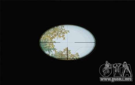 Enhanced Sniper Scope v1.1 para GTA San Andreas segunda pantalla