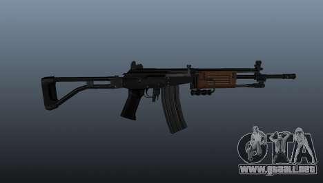 Fusil automático Galil para GTA 4 tercera pantalla