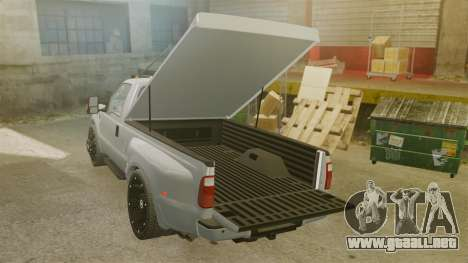 Ford F-350 Pitbull v2.0 para GTA 4 vista lateral