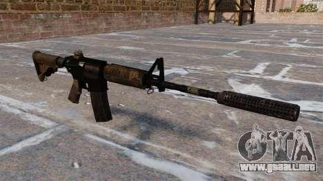 Carabina M4 automático para GTA 4
