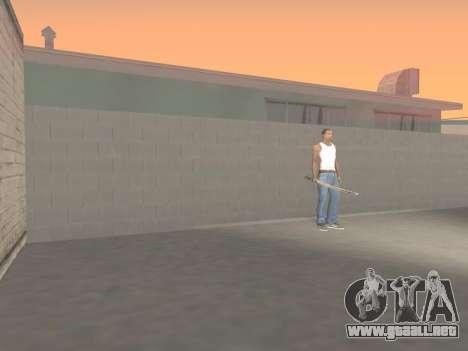 CSO Katana para GTA San Andreas sexta pantalla