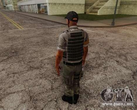 Mercenario de Far Cry 3 para GTA San Andreas segunda pantalla
