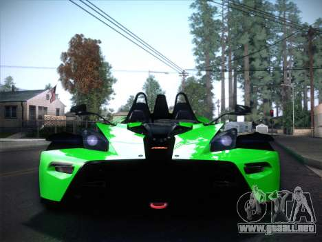 KTM Xbow R para la visión correcta GTA San Andreas