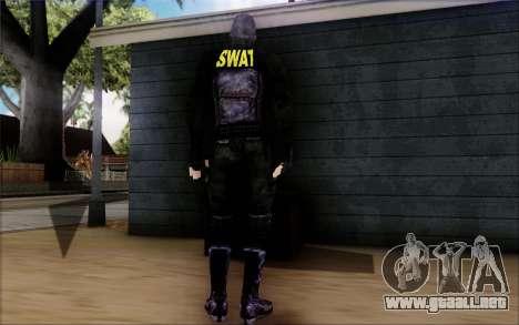 SWAT de Postal 2 para GTA San Andreas tercera pantalla