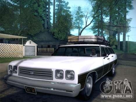 Regina from GTA V para GTA San Andreas left