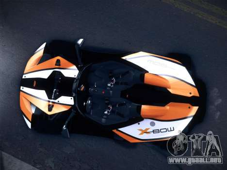KTM Xbow R para GTA San Andreas left