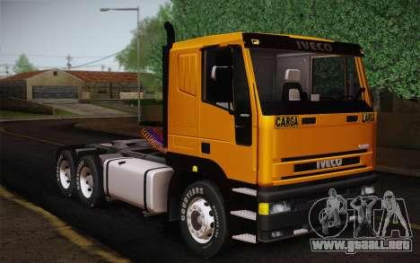 Iveco EuroTech 6x4 Doors para GTA San Andreas