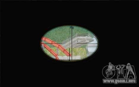 Enhanced Sniper Scope v1.1 para GTA San Andreas tercera pantalla