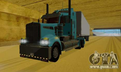 Kenworth T908 para GTA San Andreas left