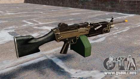 La ametralladora de la ligera M249 Airsoft para GTA 4 segundos de pantalla