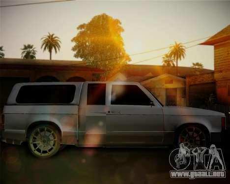 Isuzu KB para GTA San Andreas left