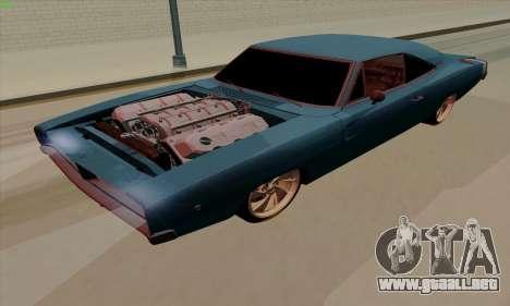 Dodge Charger 1969 Big Muscle para GTA San Andreas