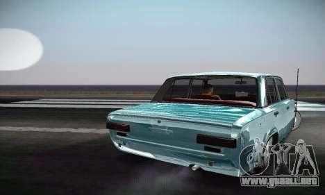 VAZ 2101 Resto para GTA San Andreas vista hacia atrás