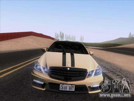 Mercedes-Benz E63 AMG 2011 Special Edition para la visión correcta GTA San Andreas
