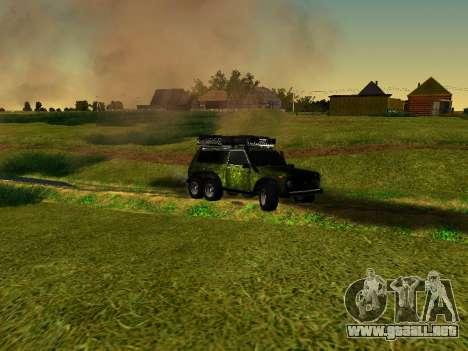 VAZ 212140 Hunter para la visión correcta GTA San Andreas