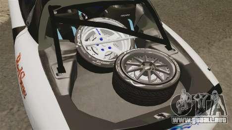 Mazda RX-7 para GTA 4 vista interior