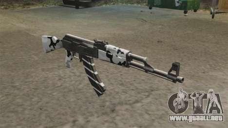 Invierno de AK-47 para GTA 4