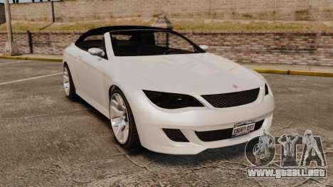 GTA V Zion XS Cabrio [Update] para GTA 4