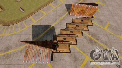 Airport Stunting para GTA 4 adelante de pantalla