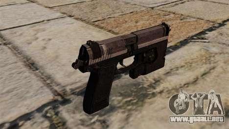 H & K MK23 Socom pistola semi-automática para GTA 4 segundos de pantalla