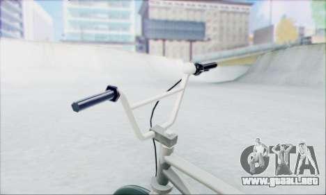 Trail Bike v1.0 para GTA San Andreas vista posterior izquierda