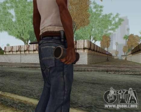 Granada de luz HD para GTA San Andreas tercera pantalla