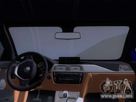 BMW F32 4 series Coupe 2014 para la vista superior GTA San Andreas