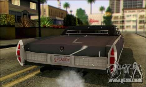 Cadillac Deville Lowrider 1967 para GTA San Andreas left