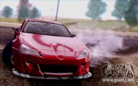 Toyota GT86 Rocket Bunny v2 para la visión correcta GTA San Andreas