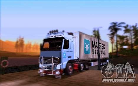 Remolque MAERSK para la visión correcta GTA San Andreas