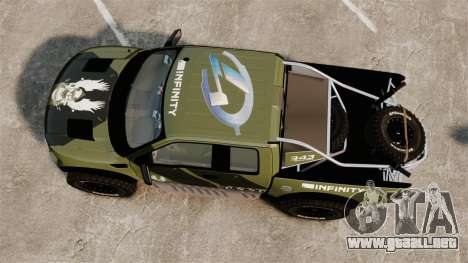 Ford F150 SVT 2011 Raptor Baja [EPM] para GTA 4 visión correcta